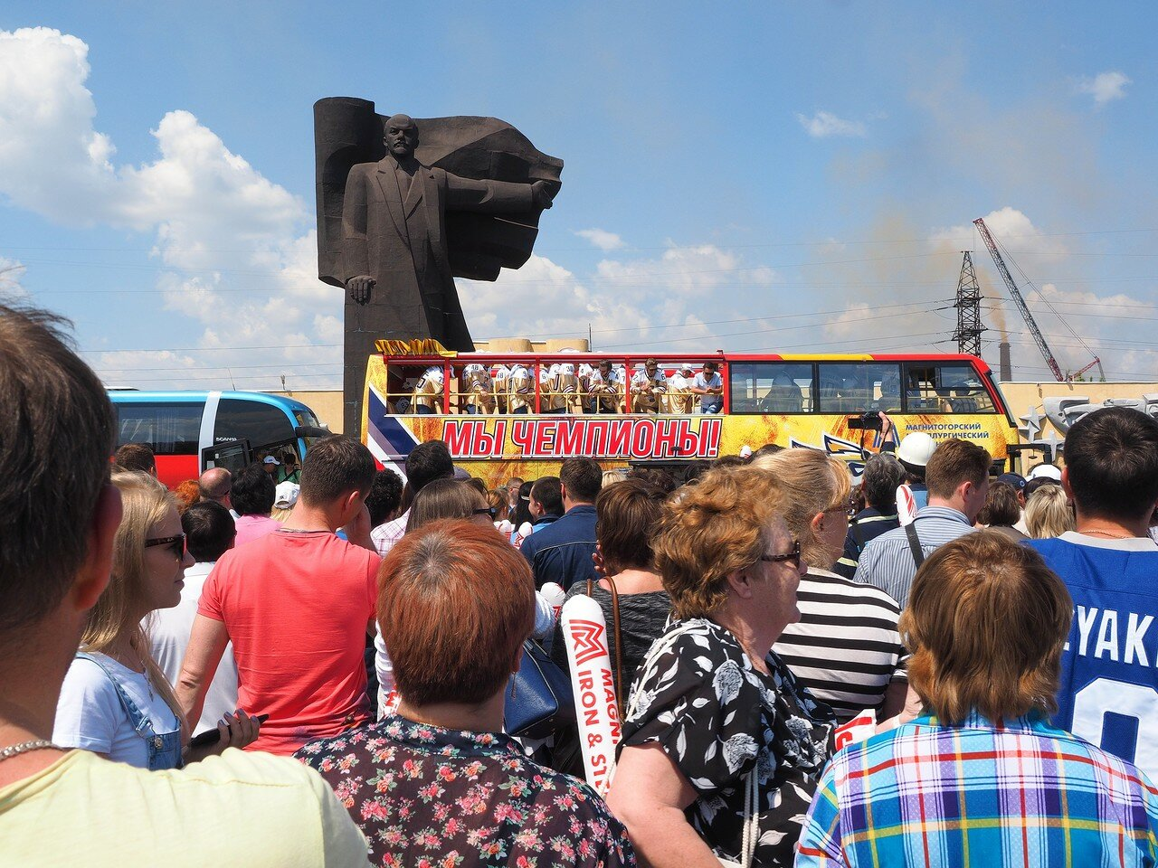 106Церемония чествования команды Металлург27.05.2016