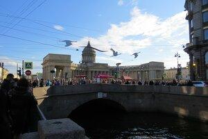 Достопримечательности Санкт-Петербурга: Казанский мост