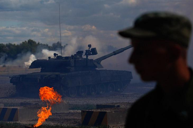 2. Военные учения в Калининградской области. (Фото Alexei Druzhinin | Reuters):