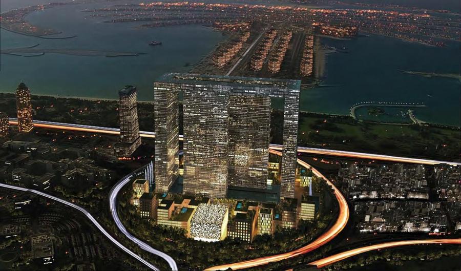 3. Dubai Perl Хотя Дубаи и славен своими крупнейшими торговыми центрами, сейчас речь пойдет о роскош
