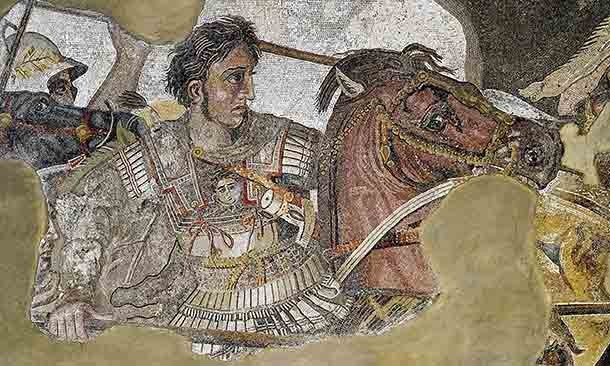 При Александре Македонском Македонская империя разрушила Державу Ахеменидов и построила окончате