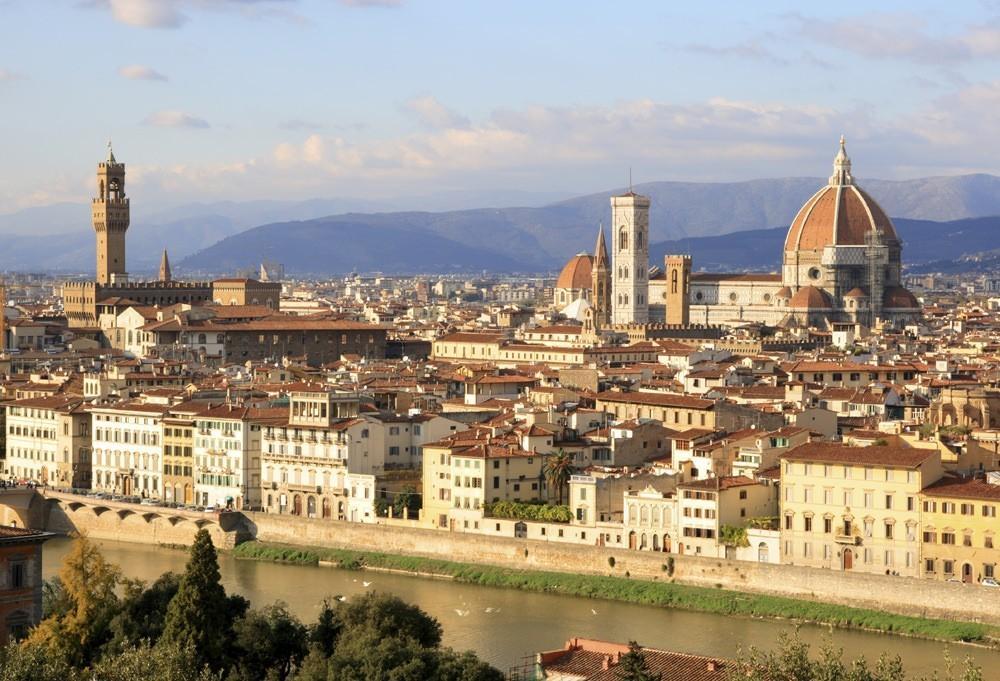 36. Флоренция, Италия . Этот прекрасный итальянский город как будто замер в прошлом.