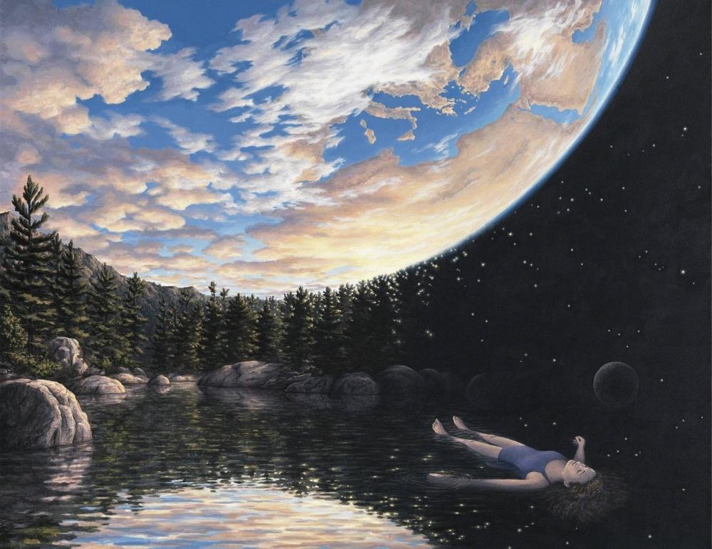 Роб Гонсалвес (Rob Gonsalves)— канадский художник спотрясающим чувством перспективы испособностью