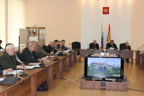 сессия райсовета в Куйбышеве