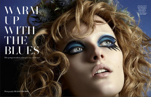 L'Officiel Malaysia enlists fashion photographer Frauke Fischer to capture Warm Up with the Blues be