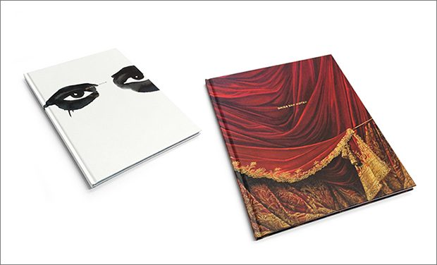 Dries Van Noten   creates two books to celebrate his recent collections for Fall Winter 2016/17. One