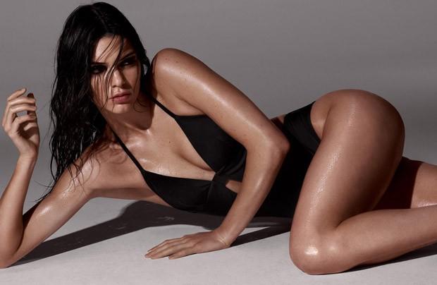 Kendall Jenner in Calvin Klein for LOVE Magazine by Dan Jackson