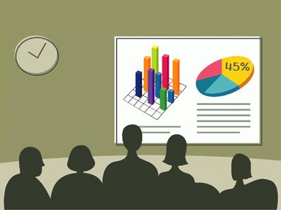 покажите аудитории факты и цифры