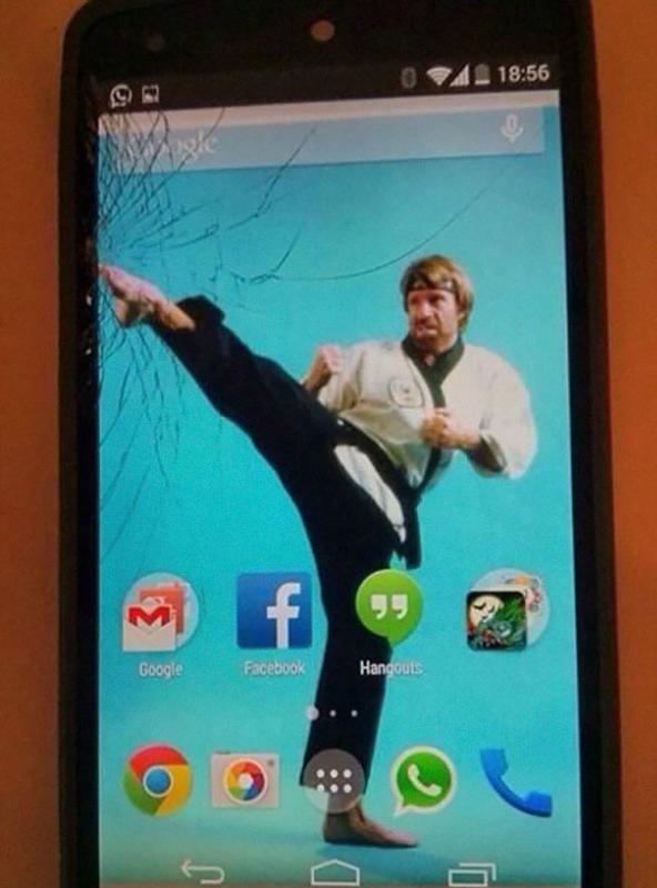 Идеи, как починить треснувший экран смартфона