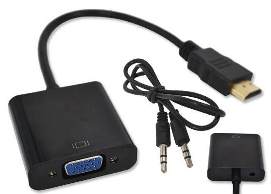 HDMI VGA адаптер с Аудио выходом для Android TV