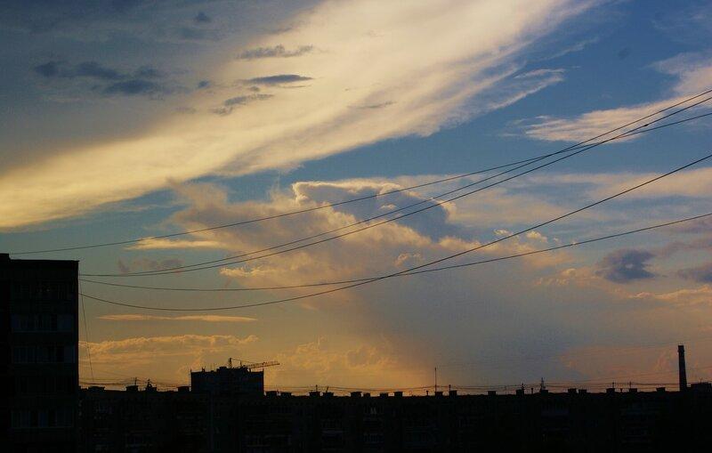 Вечер. Небо после грозы (2)