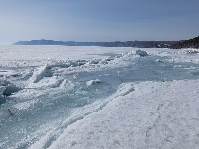 Листвянка - Льды на Байкале