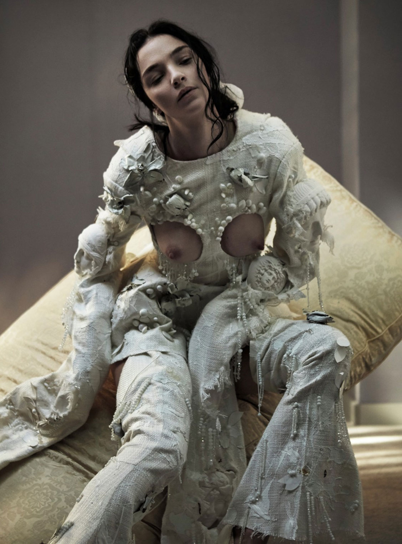 невеста Мариякарла Босконо / Mariacarla Boscono by Katja Mayer - CR Fashion Book fall/winter 2016