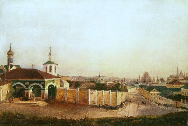 455570 Вид Москвы от Ивановского монастыря Неизвестный художник 1850-е.jpg