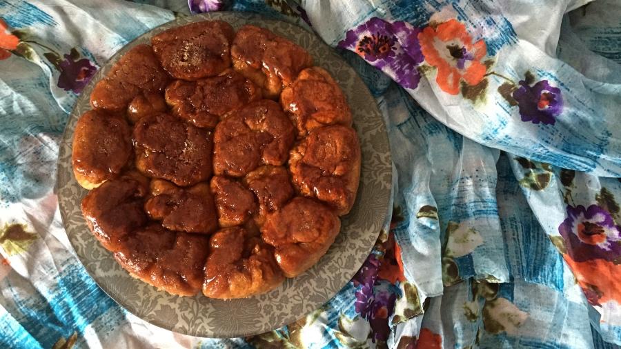 Пирог постный с маком