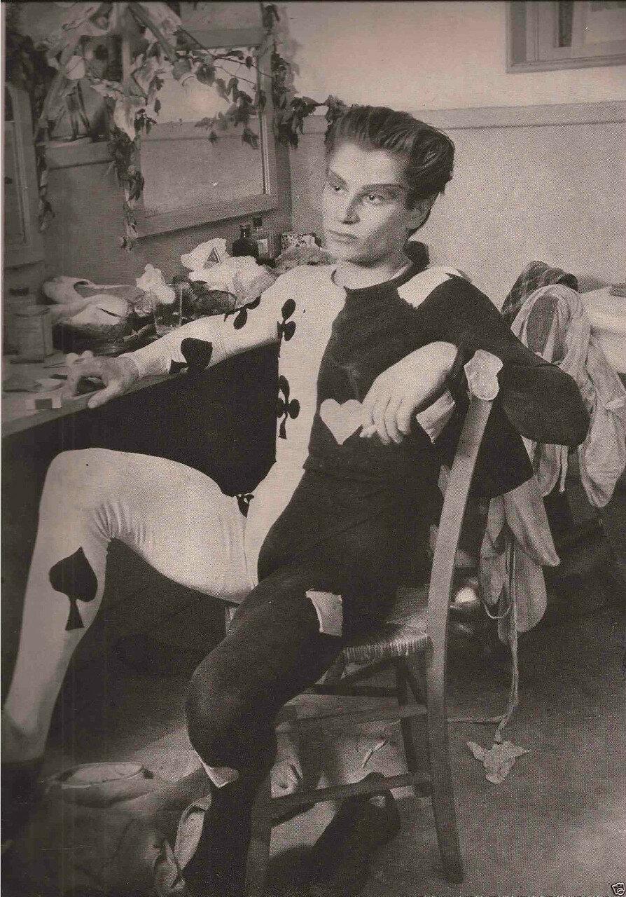 1952. Танцовщик Жан Бабиле