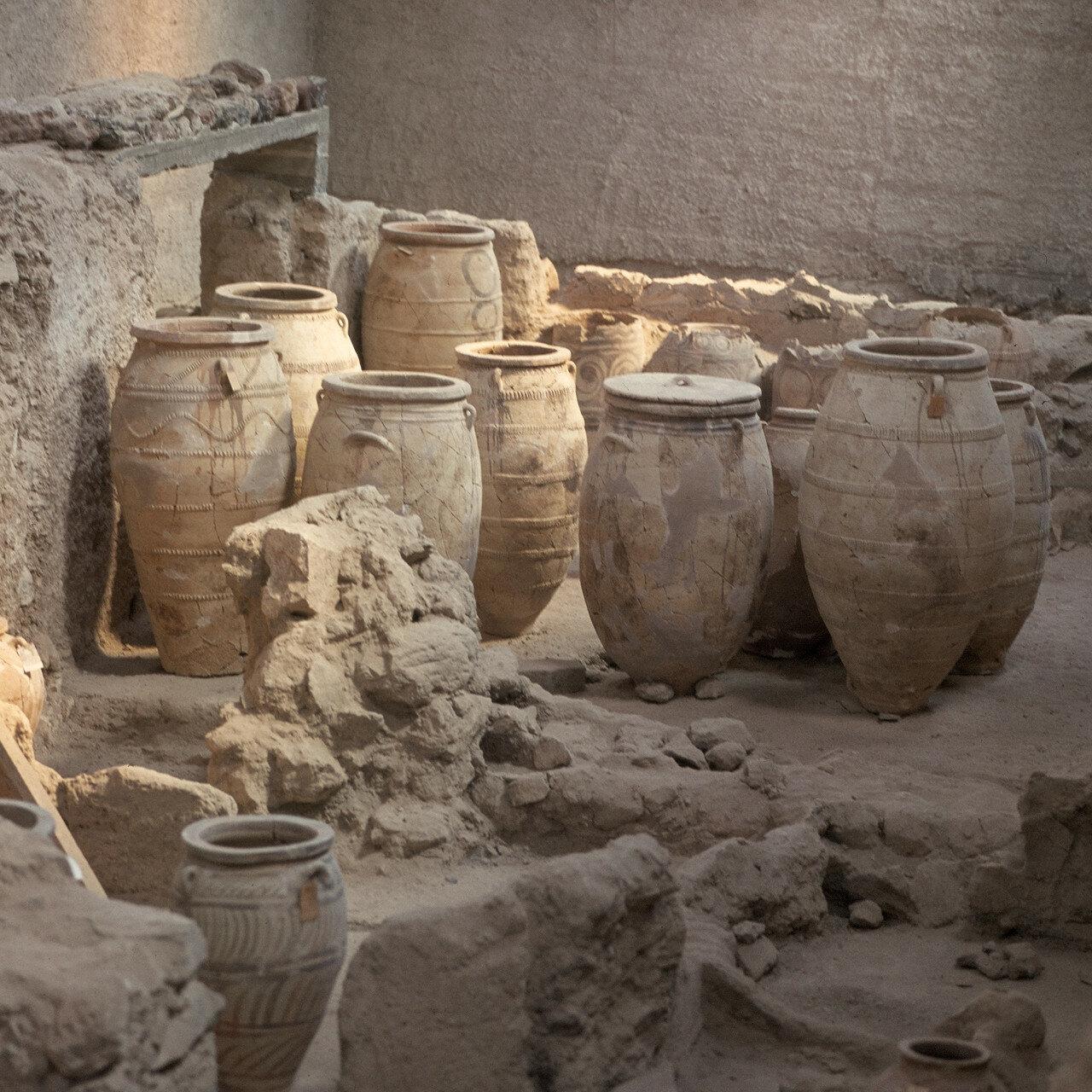 Санторини. Акротирион. Поздний минойский период, около 1500 до н.э