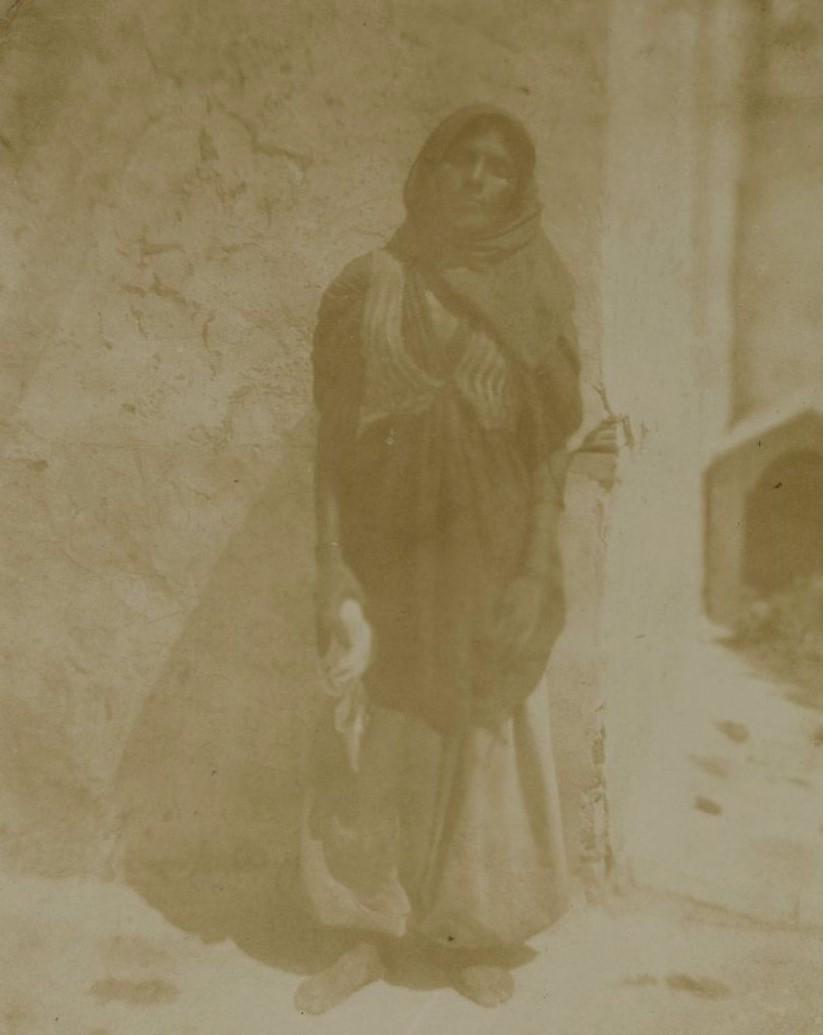 1850. Путешествие по восточной части Судана. Египтянка