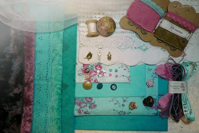 Винтажные материалы для рукоделия ткани аксессуары http://kantik.com.ua/
