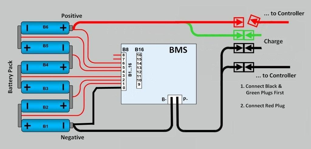 Bms аккумулятор схема