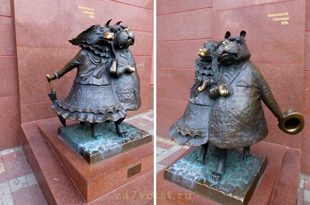 Краснодар, скульптура