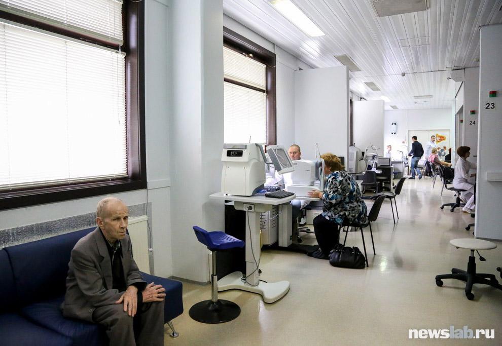 16. Как и другие отделения центра, отделение диагностики оснащено самым современным оборудовани