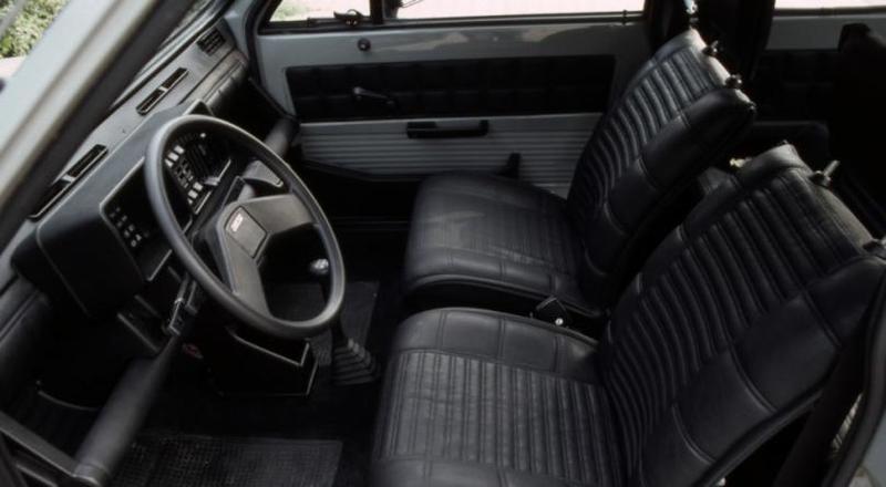 Интерьер Fiat Panda 4×4 1983–86