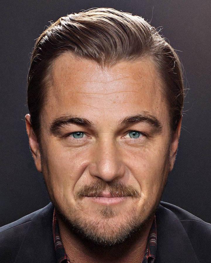 2 в 1: мастер фотошопа смешал портреты знаменитостей (10 фото)