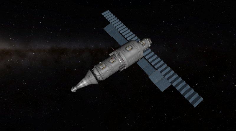 Первый запуск  Но проект не забросили. 29 ноября 1986 года с космодрома Байконур была сделан