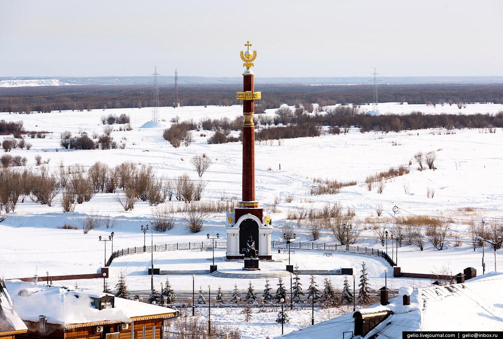 4. Площадь Ленина — центральная площадь Якутска. Памятник Ленину был установлен в 1957 году. На