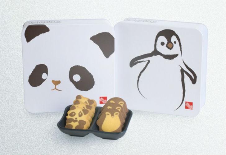 Коробка печенья от китайских дизайнеров Kee Wah Bakery. Волшебный скотч