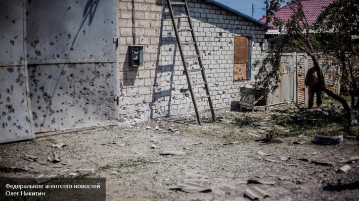 ВСУ обстреляли изтяжелого вооружения наблюдательный пост СЦКК назападе Донецка