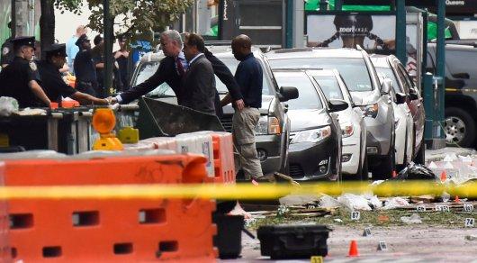 Мэр Нью-Йорка объявил, что данных освязи взрыва стерроризмом пока нет