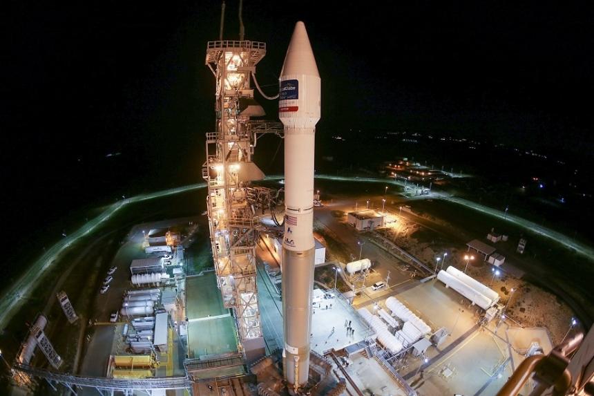 США запустили ракету-носитель Atlas Vсоспутником зондирования Земли