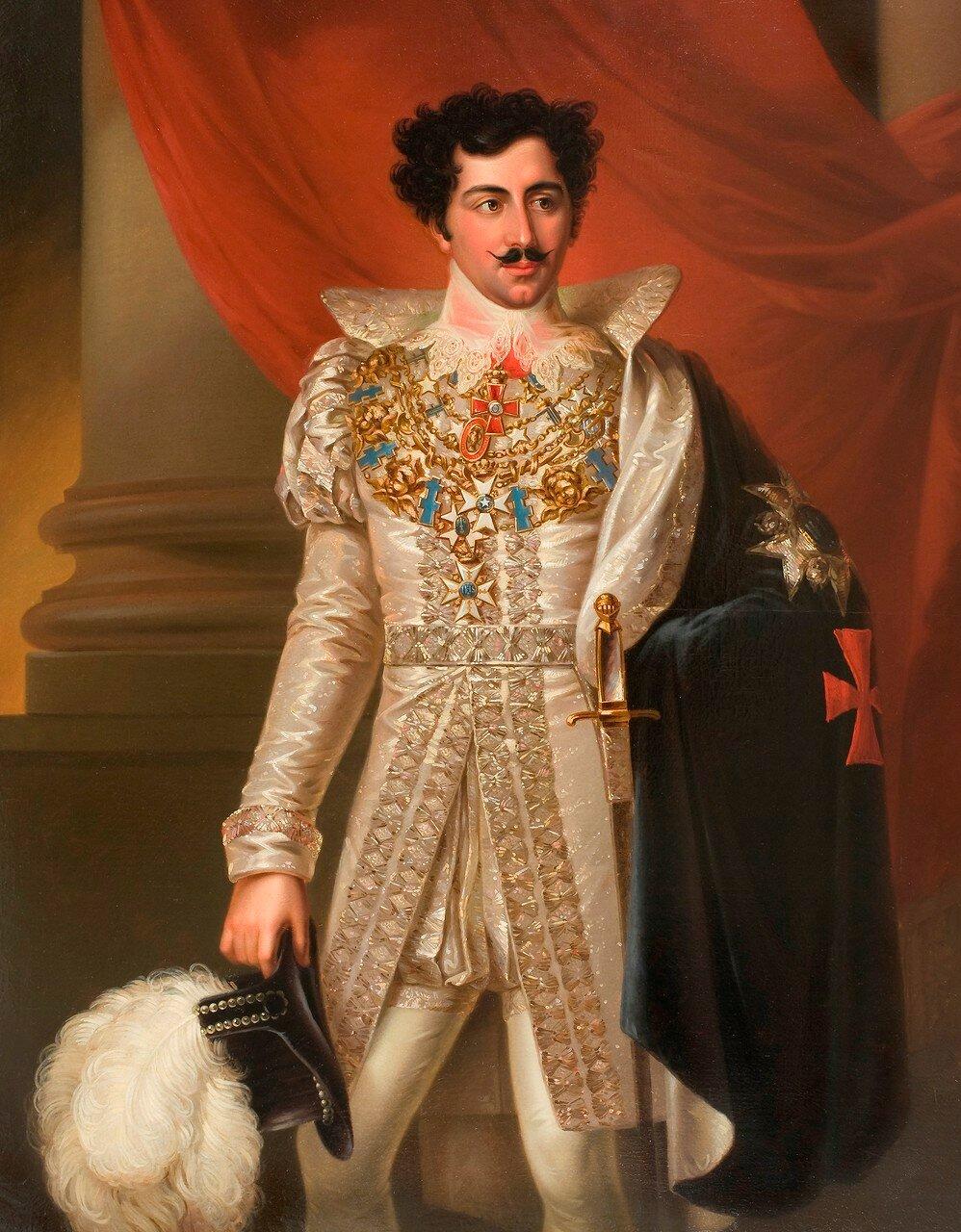 Шведский живописец Фредерик Вестин (1782-1862)