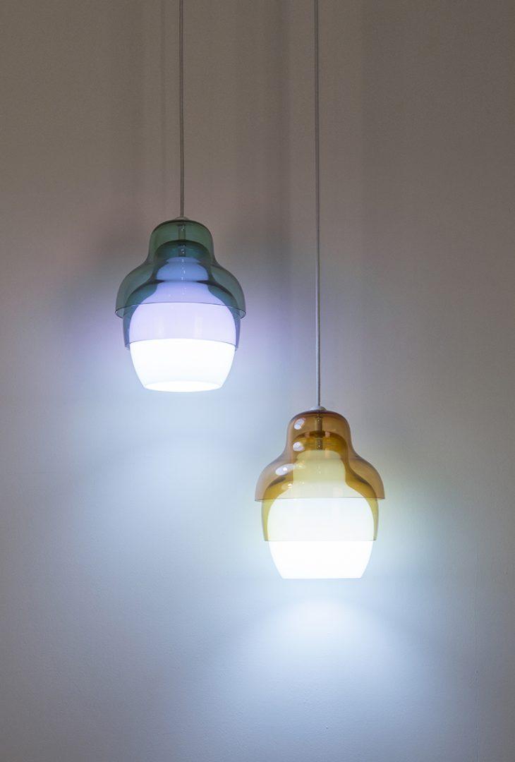 Matrioshka Lamp by Stone Designs