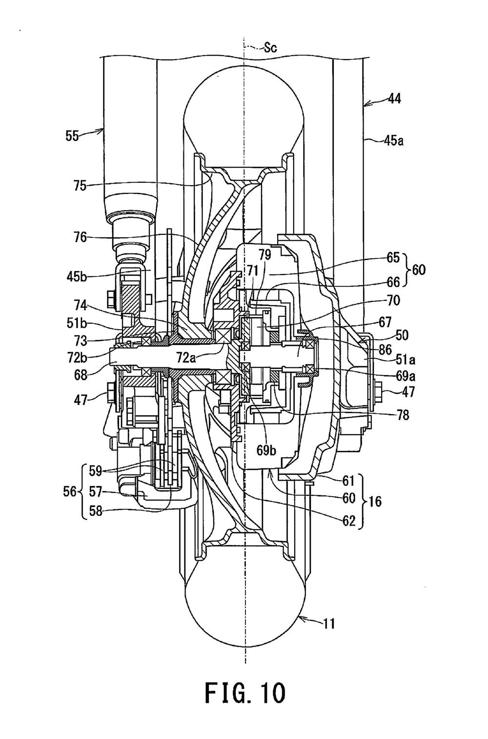 Компания Suzuki патентует гибридный скутер 2WD