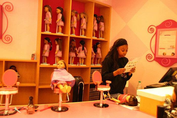 Парикмахерская для кукол
