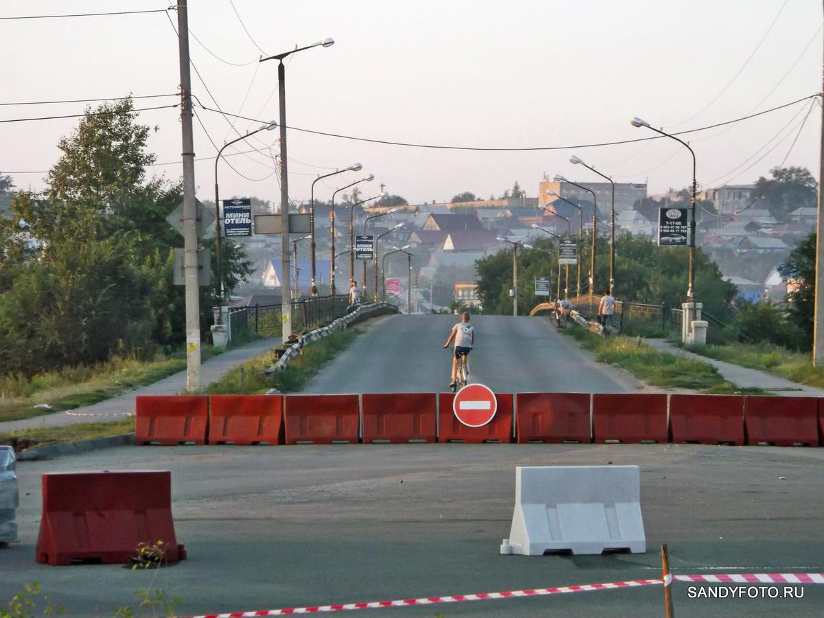 Реконструкция перекрёстка возле старого моста