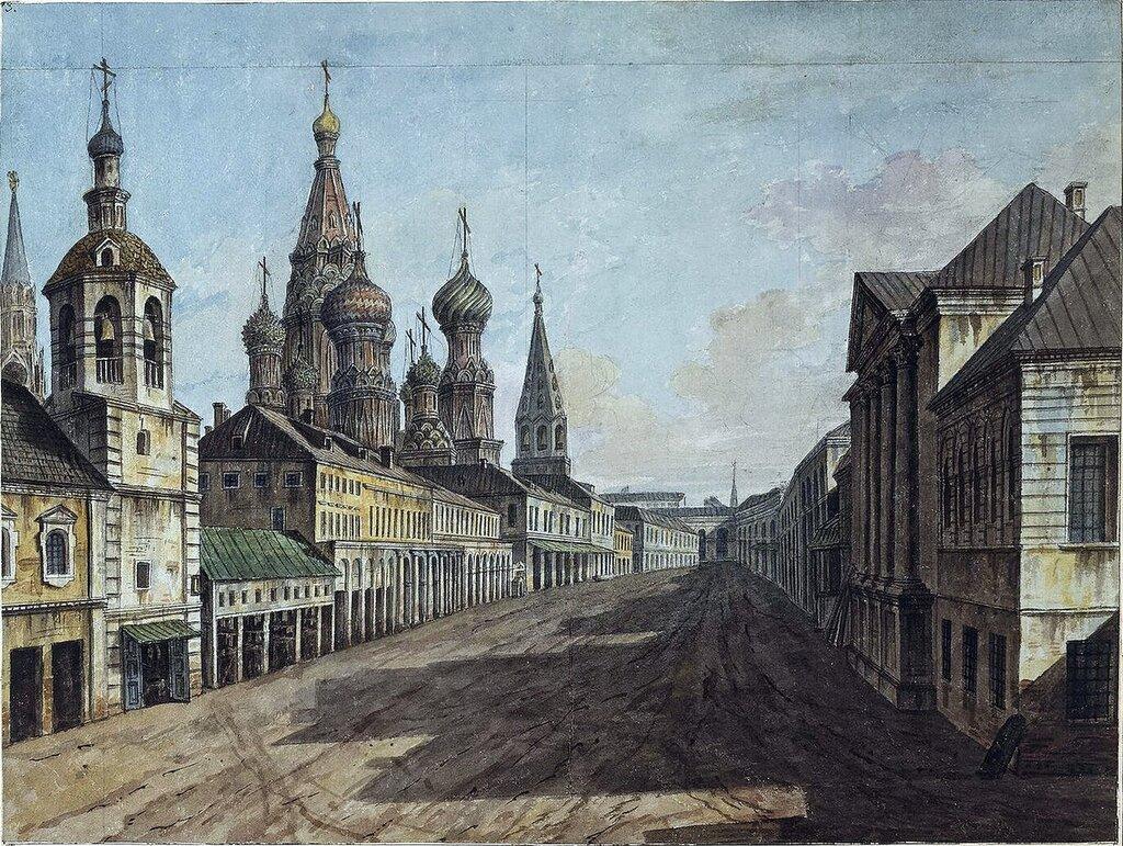 Москворецкая улица и собор Василия Блаженного..jpg