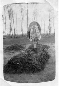 135. 1916. Могила А. А. Сивкова, земляка фотографа В. С. Мелехина