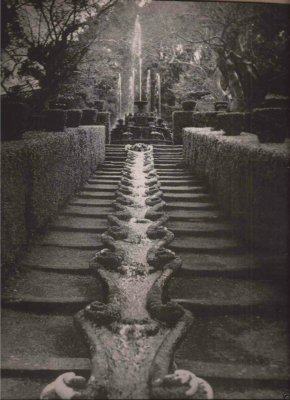 1962. Витербо. Вилла Ланте, Италия