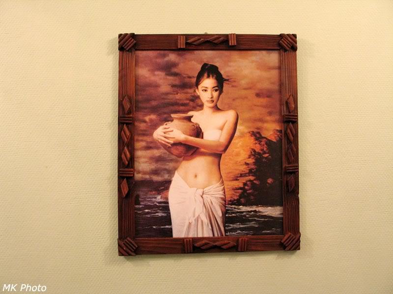 Картина в комнате отдыха