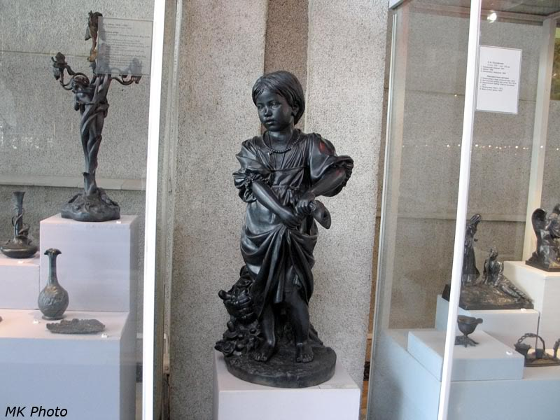 Скульптура из чугуна