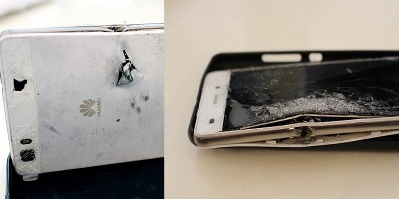 Телефон спас бизнесмена от пули
