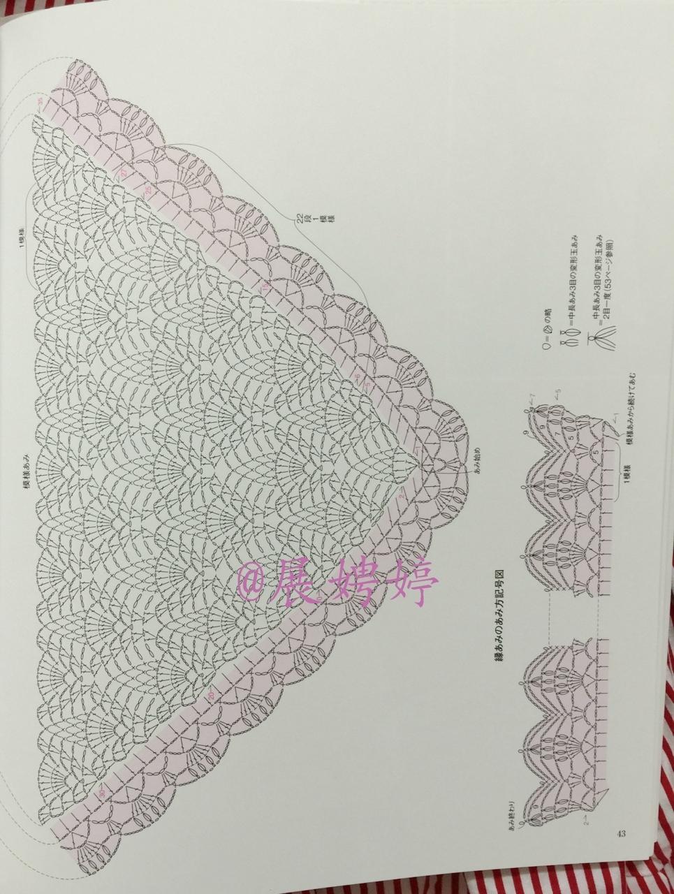 Вязание шалей палантинов накидок