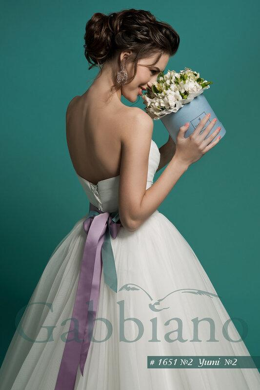 Свадебное платье Юми №2