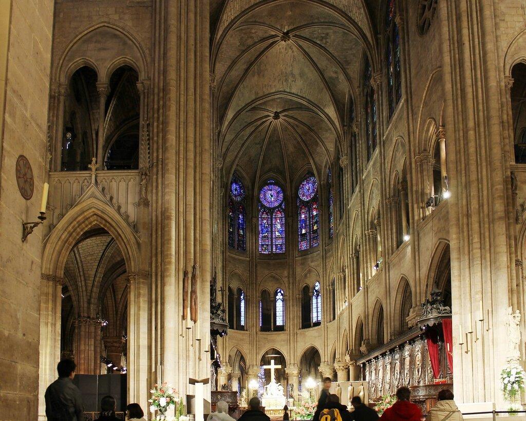 Notre-Dame de Paris, interiors