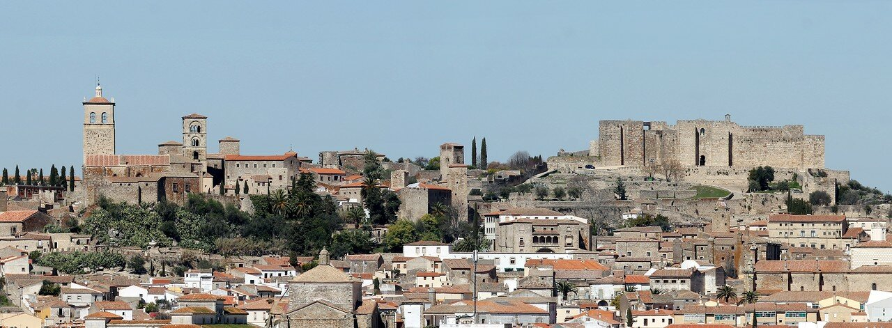 Trujillo, view from Los Berrocales