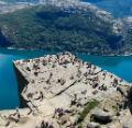 Каменные чудеса Норвегии. Кафедра проповедника (Preikestolen)